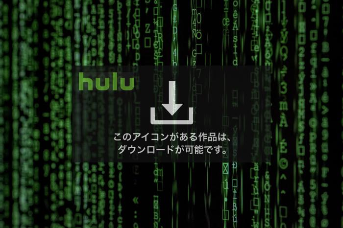 【ファミリーにおすすめ!】Hulu(フールー)のダウンロード機能が最高な件